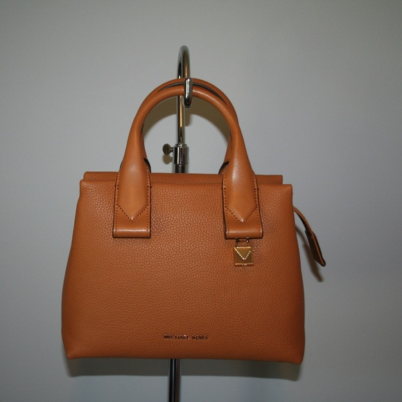 f40290b809613b Michael Kors Bags | Rollins Small Satchel Acorn Leather | Poshmark
